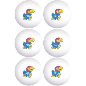 Kansas Jayhawks Pong Balls 6ct