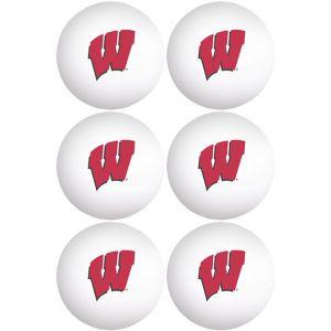 Wisconsin Badgers Pong Balls 6ct