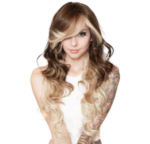 Curly Choco Vanilla Cosplay Wig