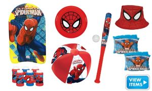 SpiderMan Super Summer Toys Kit