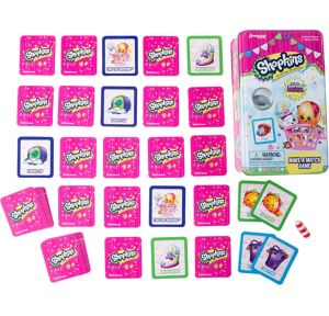 Shopkins Memory Match Game Tin