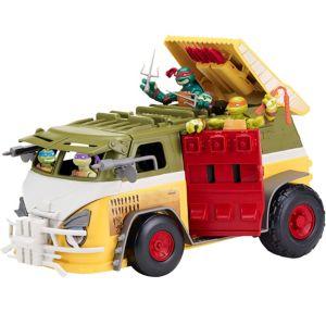 Teenage Mutant Ninja Turtles Party Wagon Toy 18pc