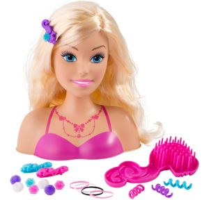 Barbie Styling Head Playset 20pc