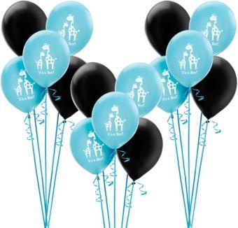 Blue Safari Boy Baby Shower Balloon Kit 30ct