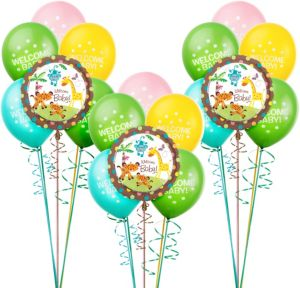 Fisher Price Baby Shower Balloon Kit 18ct