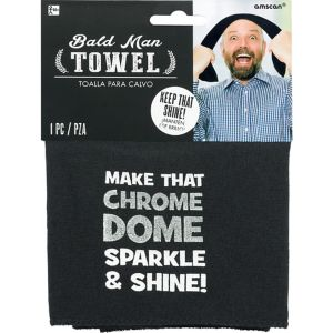 Bald Head Towel