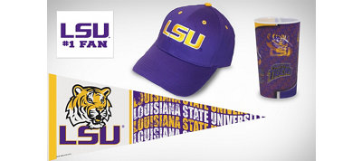 Louisiana State Tigers Collegiate Care Package