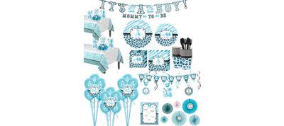 Baby Blue Safari Premium Kit 36 Guests