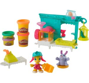 Play-Doh Town Pet Store Playset 14pc
