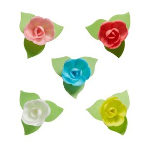 Rose Icing Decorations 9ct