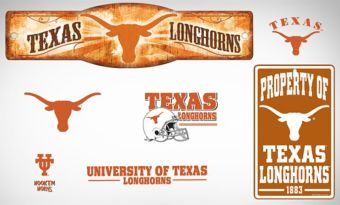 Texas Longhorns Dorm Room Kit