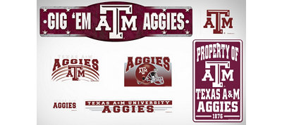 Texas A&M Aggies Dorm Room Kit