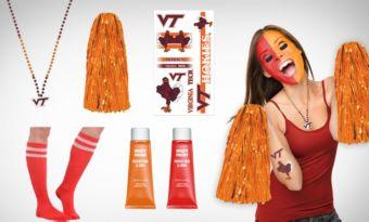 Virginia Tech Hokies Fan Gear Kit