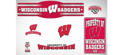 Wisconsin Badgers Dorm Room Kit