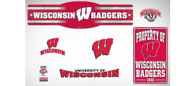 Wisconsin Badgers Dorm Room Kit
