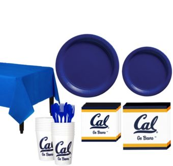 Cal Bears Basic Party Kit for 16 Guests