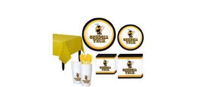 Georgia Tech Yellow Jackets Basic Fan Kit