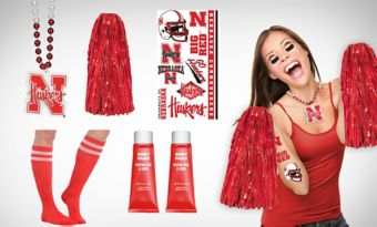 Nebraska Cornhuskers Fan Gear Kit