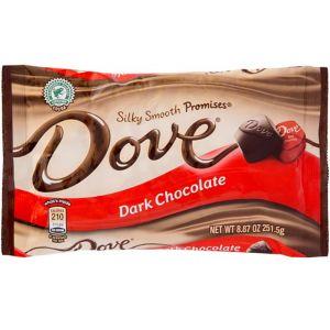 Dove Dark Chocolates 30ct