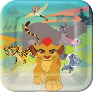 Lion Guard Lunch Plates 8ct