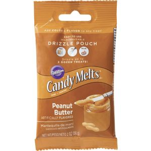 Peanut Butter Candy Melts Drizzle Pouch