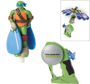 Flying Heroes Leonardo Action Figure - Teenage Mutant Ninja Turtles