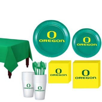 Oregon Ducks Basic Party Kit for 16 Guests