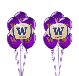 Washington Huskies Balloon Kit