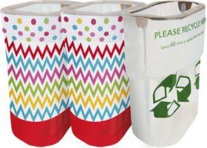 Bright Polka Dot & Chevron Clean-Up Kit