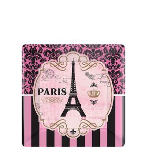 A Day in Paris Dessert Plates 8ct