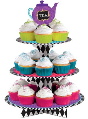 Mad Tea Party Cupcake Stand