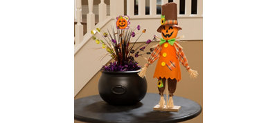Happy Pumpkin Pal Table Decorating Kit