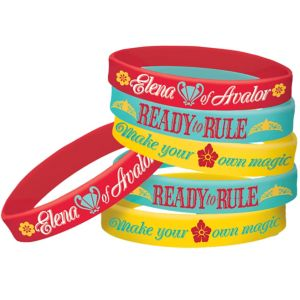 Elena of Avalor Wristbands 6ct