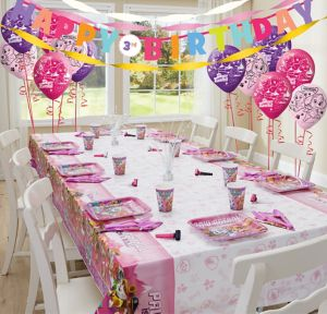 Pink PAW Patrol Super Party Kit for 8 Guests