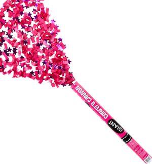 Giant Pink Graduation Confetti Cannon