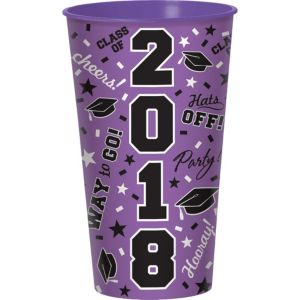 Purple 2017 Graduation Cup