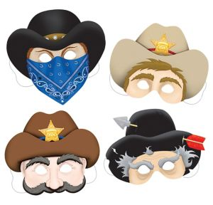 Western Masks 4ct