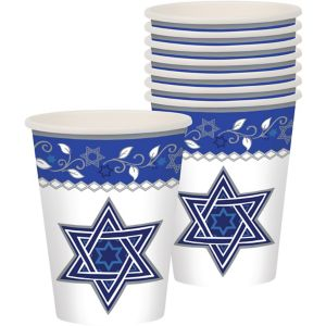 Joyous Holiday Passover Cups 8ct