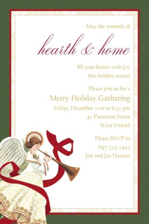 Custom Holiday Spirit Invitation