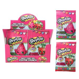 Shopkins Poppin' Crunch Candy 18ct
