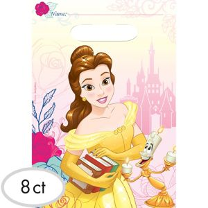Beauty and the Beast Favor Bags 8ct