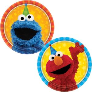 Sesame Street Dessert Plates 8ct