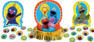 Sesame Street Table Decorating Kit 23pc