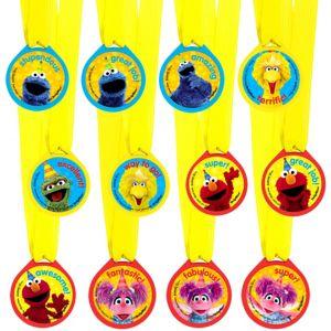 Sesame Street Award Medals 12ct