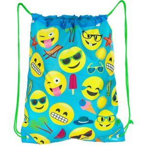 Smiley Summer Drawstring Backpack