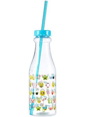 Summer Smiley Soda Bottle