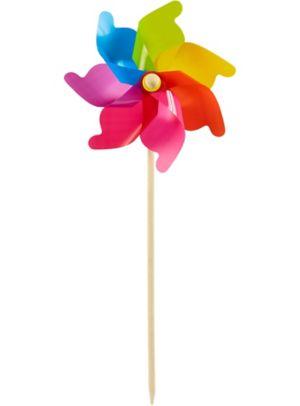 Rainbow Pinwheel Yard Stake