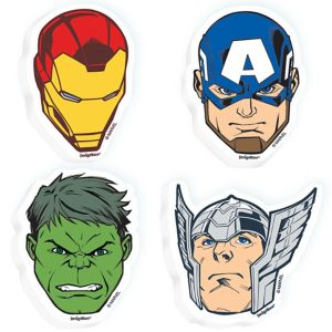 Avengers Erasers 4ct