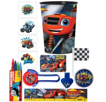 Blaze and the Monster Machines Super Favor Kit for 8 Guests