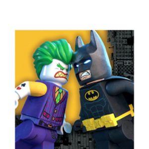 Lego Batman Movie Lunch Napkins 16ct